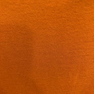 Forever 21 Tops - Forever 21 Orange Long Sleeve Tie Front Crop Top